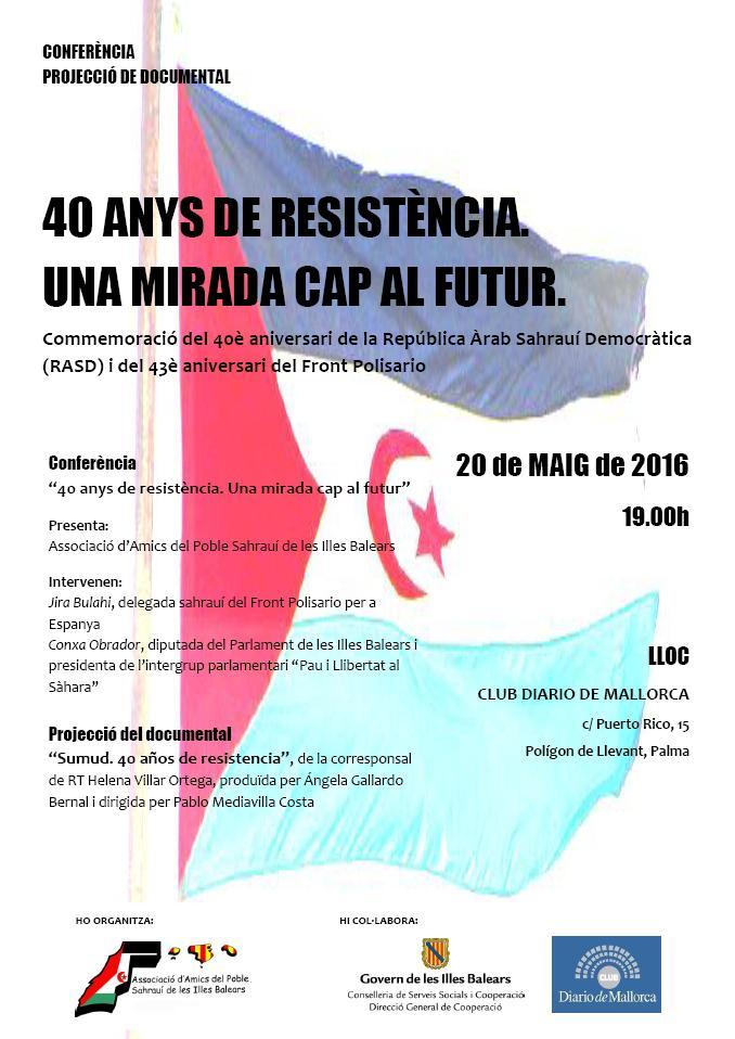 40 anys de resistència. Una mirada cap al futur (20-05-16)